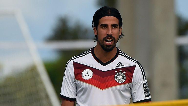 Полузащитник сборной Германии Сами ХЕДИРА. Фото AFP