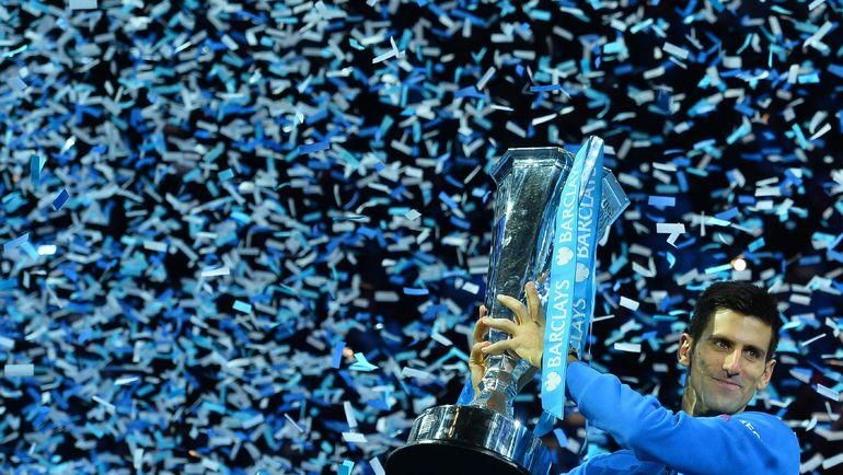 """В 2015 году Новак ДЖОКОВИЧ выиграл три """"мэйджора"""" и итоговый турнир года в Лондоне. Фото AFP"""