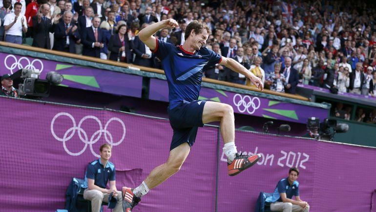 5 августа 2012 года. Лондон. Энди МАРРЭЙ – победитель домашней Олимпиады-2012. Фото REUTERS
