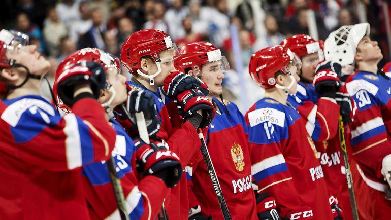 Вторник. Хельсинки. Россия - Финляндия - 3:4 ОТ. Команда Валерия Брагина: а золото было так близко... Фото REUTERS