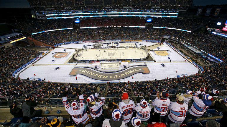 """""""Зимняя классика""""-2016 прошла в Бостоне. Фото AFP"""