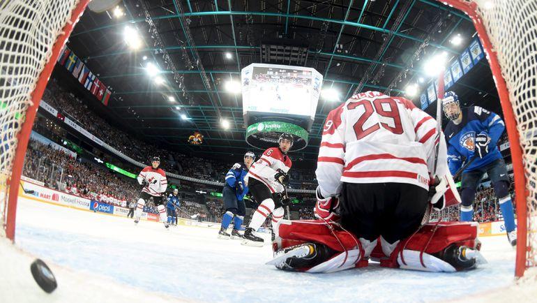 Канада пала в четвертьфинале МЧМ с хозяевами турнира, финнами. Фото REUTERS