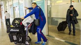 Команда Алекно вернулась в Москву