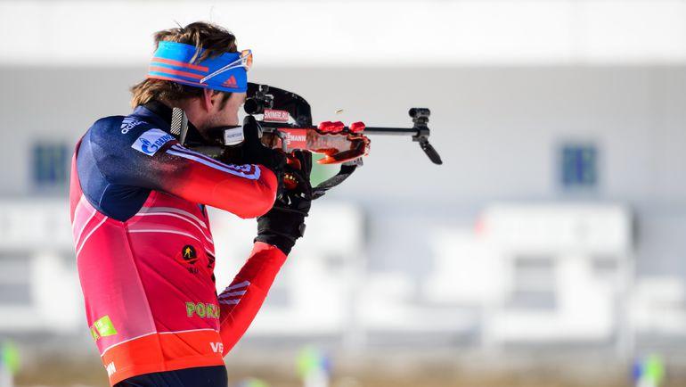 Антон ШИПУЛИН в третий раз в сезоне завоевал бронзу на этапе Кубка мира. Фото AFP