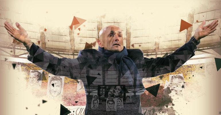 """Лучано СПАЛЛЕТТИ вернулся в """"Рому. Фото Сайт """"Ромы""""."""