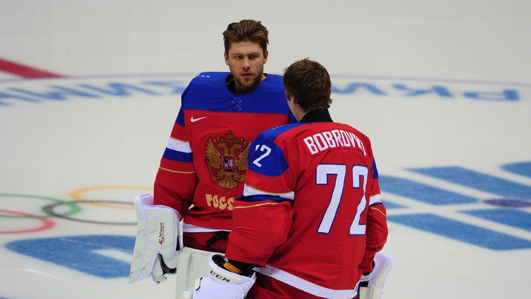 Семен ВАРЛАМОВ и Сергей БОБРОВСКИЙ. Фото Александр ФЕДОРОВ