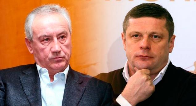 Олег ЛУЖНЫЙ и Петр ДЫМИНСКИЙ