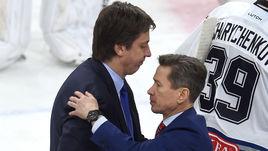 Станет ли Вячеслав БЫКОВ (справа) наследником Харийса ВИТОЛИНЬША в московском