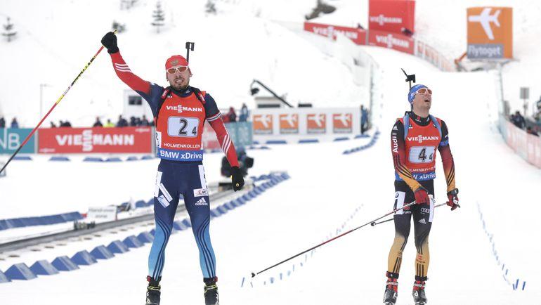 Антон ШИПУЛИН и Симон ШЕМП. Фото AFP