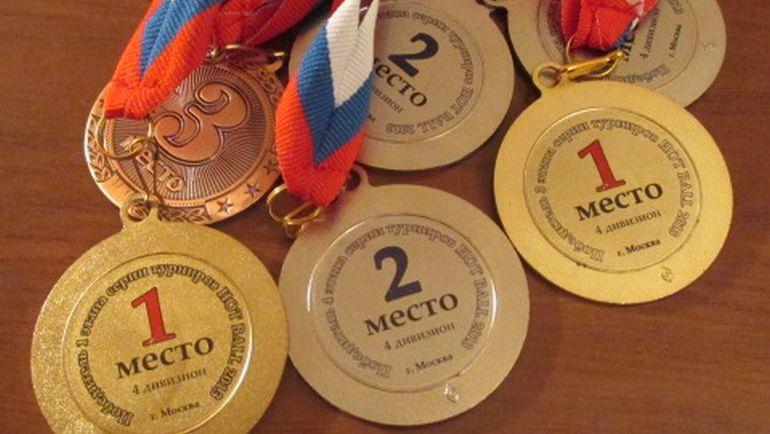 Награды Кирилла Миштановского. Фото Александр ЯКУБОВИЧ,