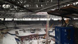 Среда. Санкт-Петербург. Строящийся стадион