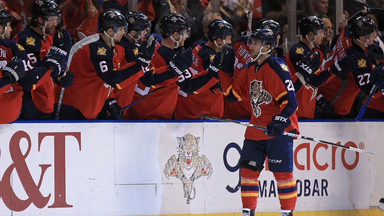"""""""Флорида"""" - главное открытие сезона в НХЛ. Фото AFP"""
