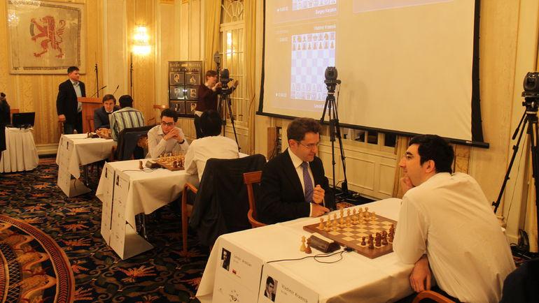 Супертурнир в Цюрихе - одно из самых значимых событий шахматного календаря. Фото Владимир БАРСКИЙ