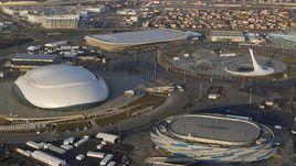 Олимпийский парк Сочи перед стартом Игр-2014.