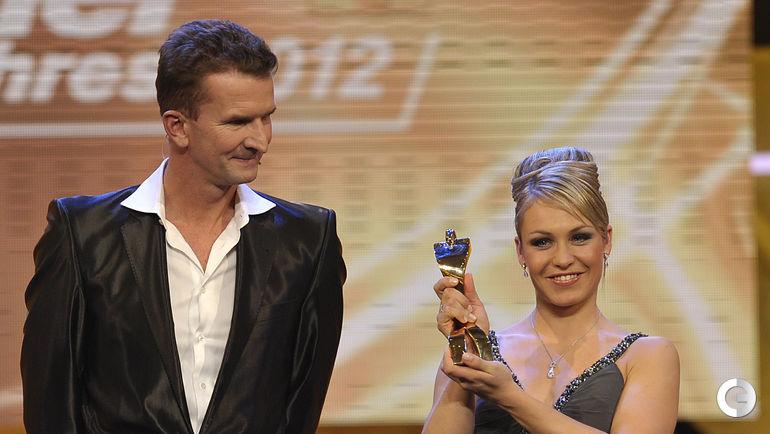Магдалена НОЙНЕР на вручении премии Атлет года в Германии. Фото REUTERS