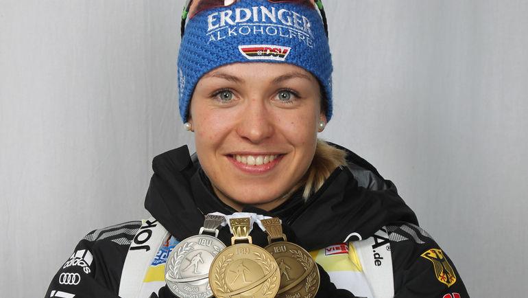 Магдалена НОЙНЕР - одна из самых титулованных биатлонисток в истории. Фото AFP