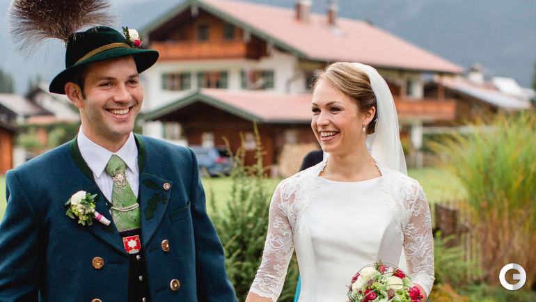 Магдалена НОЙНЕР с супругом. Фото bild.de