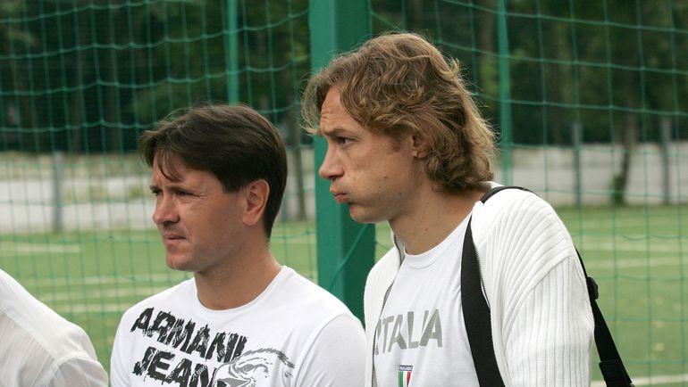 Дмитрий АЛЕНИЧЕВ и Валерий КАРПИН. Фото Татьяна ДОРОГУТИНА