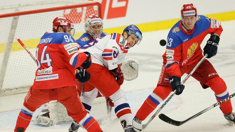 сегодня матч россия чехия
