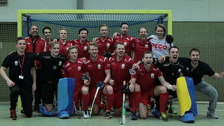 Partille SC после победы в матче за третье место.