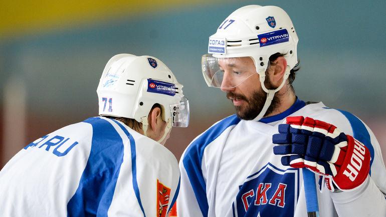 Илья КОВАЛЬЧУК. Фото ХК СКА, photo.khl.ru