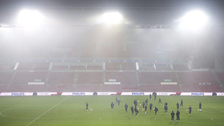 """Туман - не только над одесским """"Черноморцем"""". Фото AFP"""