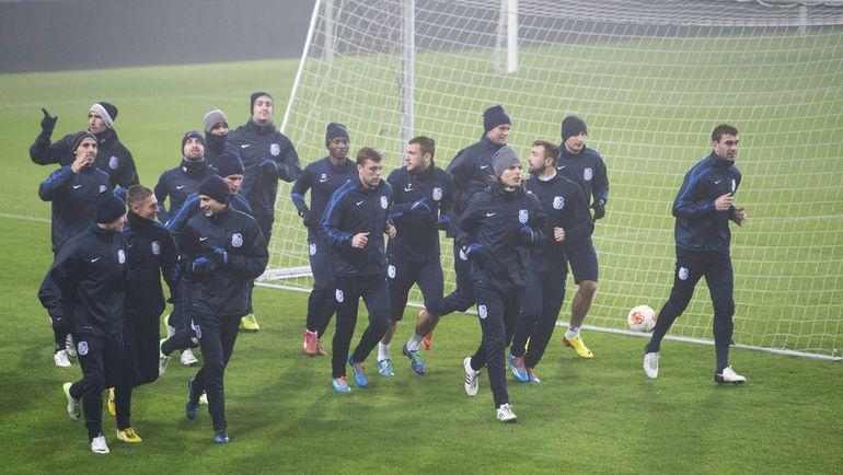 """Игроки """"Черноморца"""" теперь и не мечтают о еврокубках. Фото AFP"""