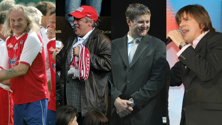 Владимир ПРЕСНЯКОВ-старший, Михаил ЕФРЕМОВ, Евгений КАФЕЛЬНИКОВ, Николай ТРУБАЧ.