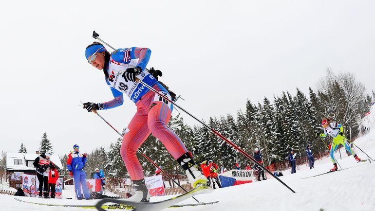 Дебютантка чемпионатов мира Татьяна АКИМОВА заняла в индивидуальной гонке 39-е место. Фото AFP
