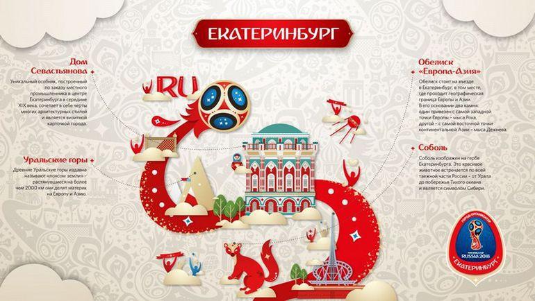 Уникальный стиль Екатеринбурга. Фото fifa.com