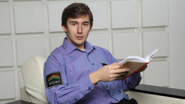 Действующий обладатель Кубка мира и один из российских претендентов на шахматную корону Сергей КАРЯКИН.