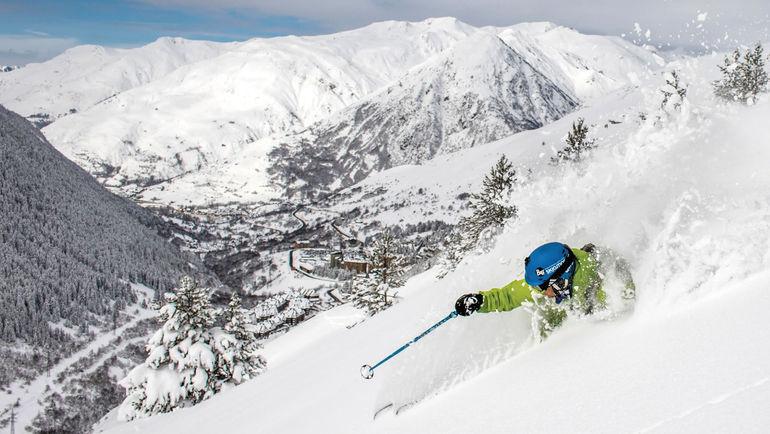 Бакейра - одно из лучших мест для горнолыжного спорта в Испании. Фото www.baqueira.es, REUTERS