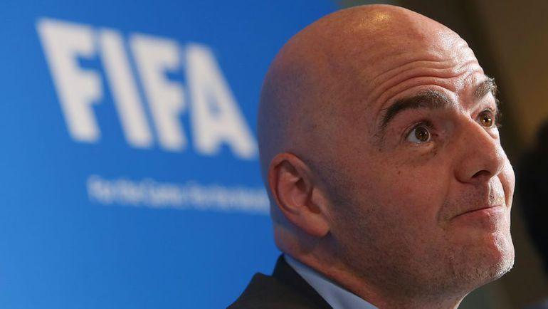 Инфантино: ФИФА вернёт похищенные деньги инаправит ихнаразвитие футбола