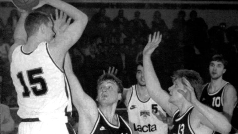 баскетбол 1995 цска олимпиакос