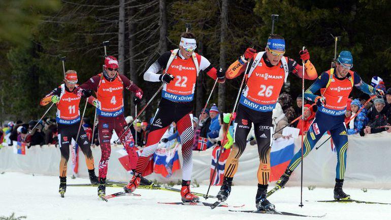 Юлиан ЭБЕРХАРД (22) - выиграл спринт в Ханты-Мансийске. Фото AFP