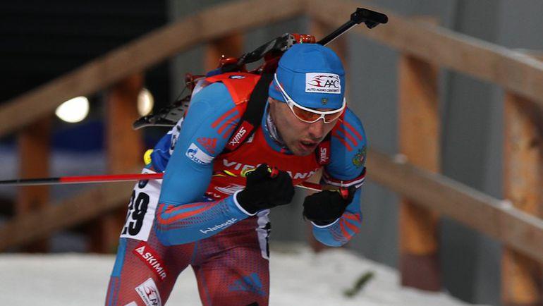 Шипулин опустился на 3-е место вобщем зачете Кубка мира побиатлону