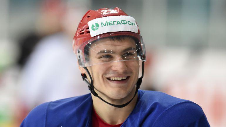 Дмитрий ОРЛОВ. Фото Владимир БЕЗЗУБОВ, photo.khl.ru