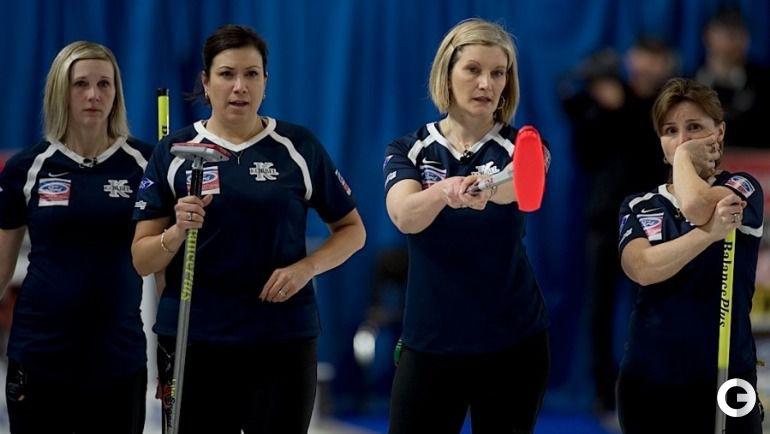 Сборная США. Фото worldcurling.org