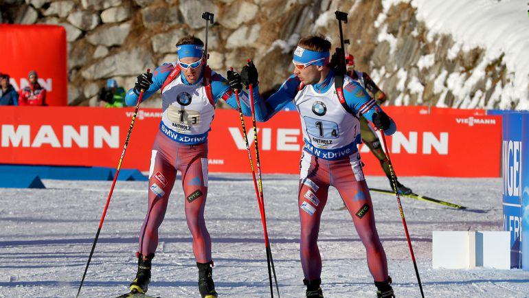 Дмитрий МАЛЫШКО и Антон ШИПУЛИН. Фото AFP