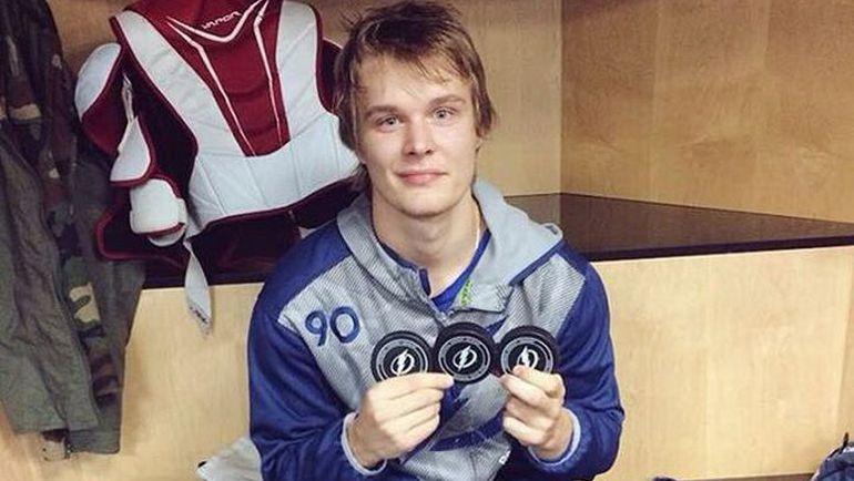 В январе Владислав НАМЕСТНИКОВ оформил первый хет-трик в своей карьере. Фото instagram.com