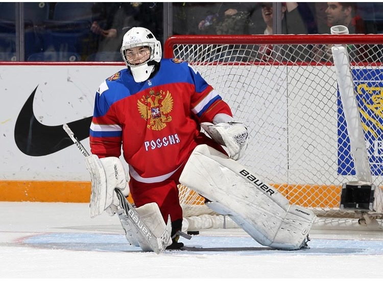 Голкипер сборной России Валерия ТАРАКАНОВА на ЧМ-2016.