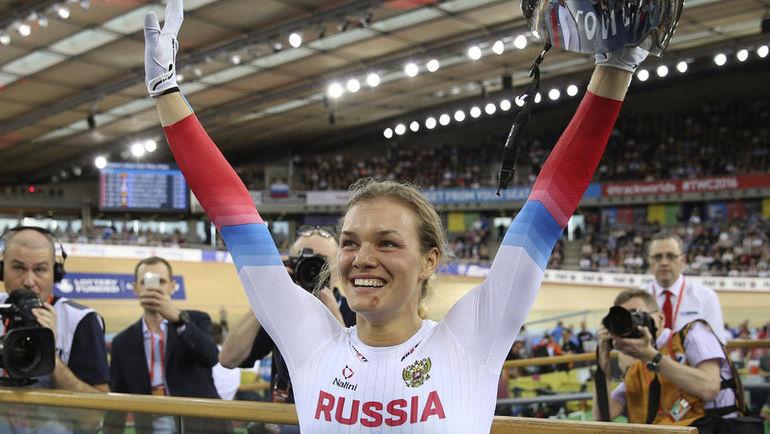 Сегодня. Лондон. Анастасия ВОЙНОВА - чемпионка мира-2016! Фото REUTERS