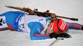 Ради 62-го результата в спринте на этапе Кубка мира в Ханты-Мансийске Анне ЩЕРБИНИНОЙ пришлось потратить все силы.