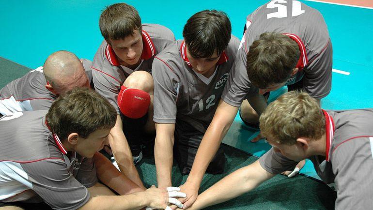 Сборная России по волейболу сидя. Фото Пресс-служба Свердловской областной федерации волейбола