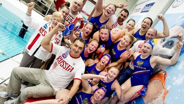 Вчера. Гауда. Греция - Россия - 12:13. Россия едет в Рио! Фото fina.org
