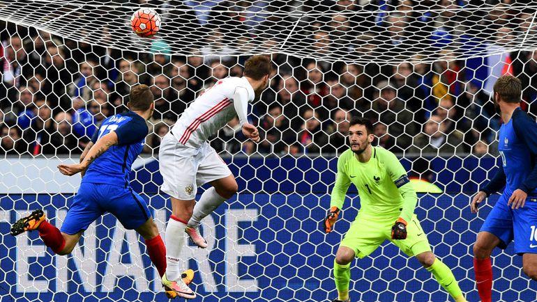 Россия проиграла Франции в товарищеском матче (Видео)