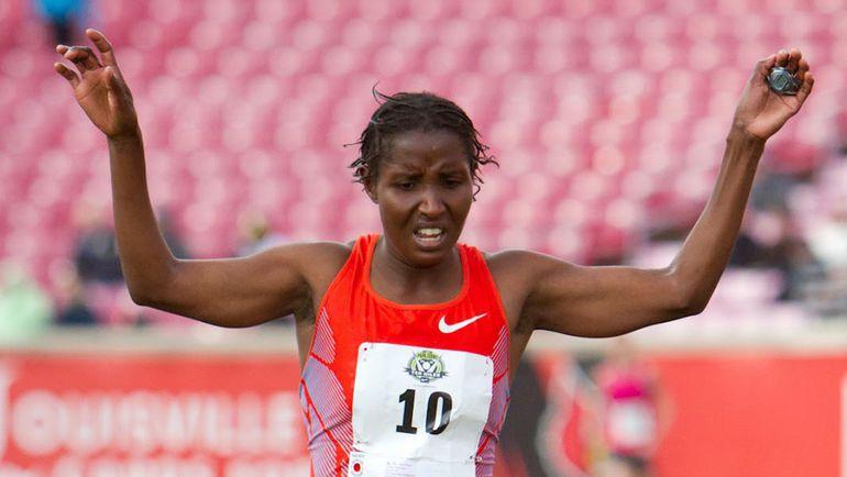 Кенийская бегунья Лилиан МАРИИТА - бывшая подопечная Ларисы Михайловой.