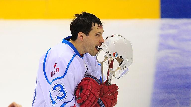Во время последнего локаута в НХЛ Павел ДАЦЮК выступал за ЦСКА. Фото Антон СЕРГИЕНКО