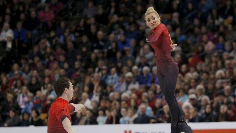 Бруно МАССО и Алена САВЧЕНКО. Фото REUTERS