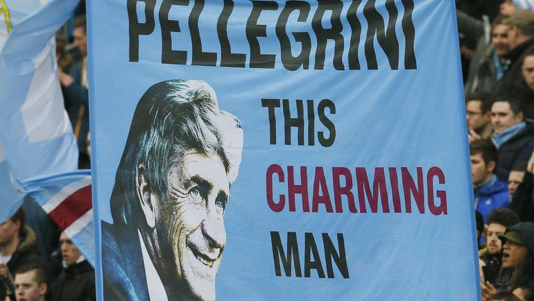 """Мануэль ПЕЛЛЕГРИНИ любим болельщиками """"Манчестер Сити"""". Фото REUTERS"""